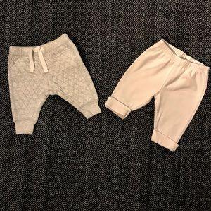 (Price drop) 2pairs of leggings 0-3m